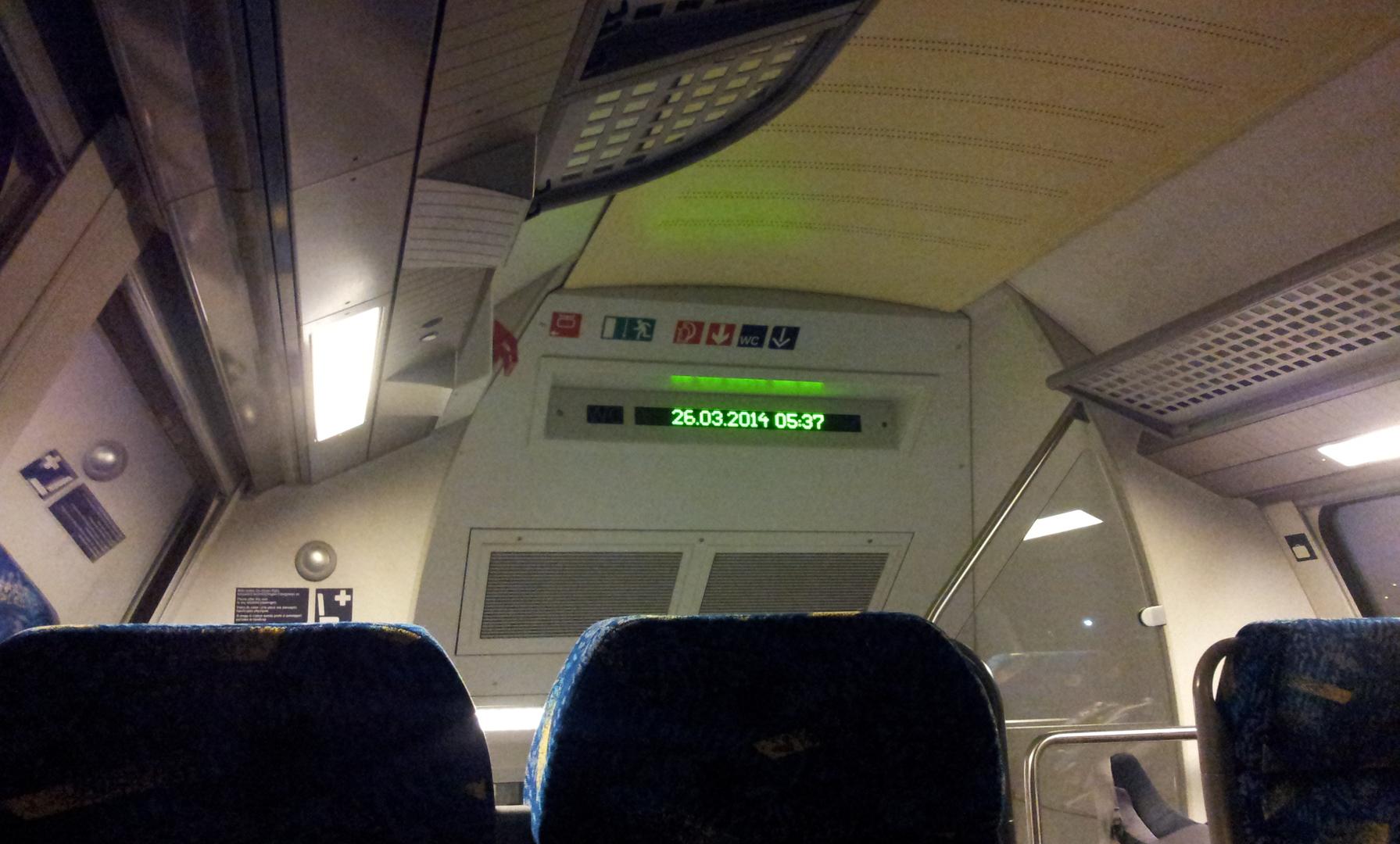 Im Metronom nach Bremen