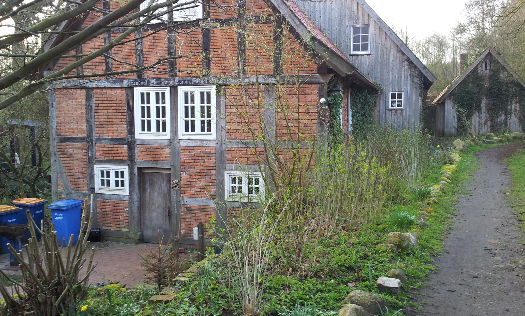 Wassermühle aus dem 19. Jh.