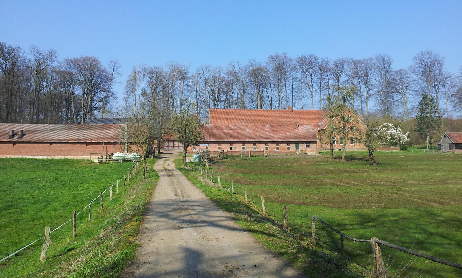 Ein alter Hof