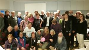 Abschlussfeier der deutschen Pilgergruppen