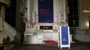 Eine-Welt-Preis-FEST in der Christianskirche in Hamburg Ottensen